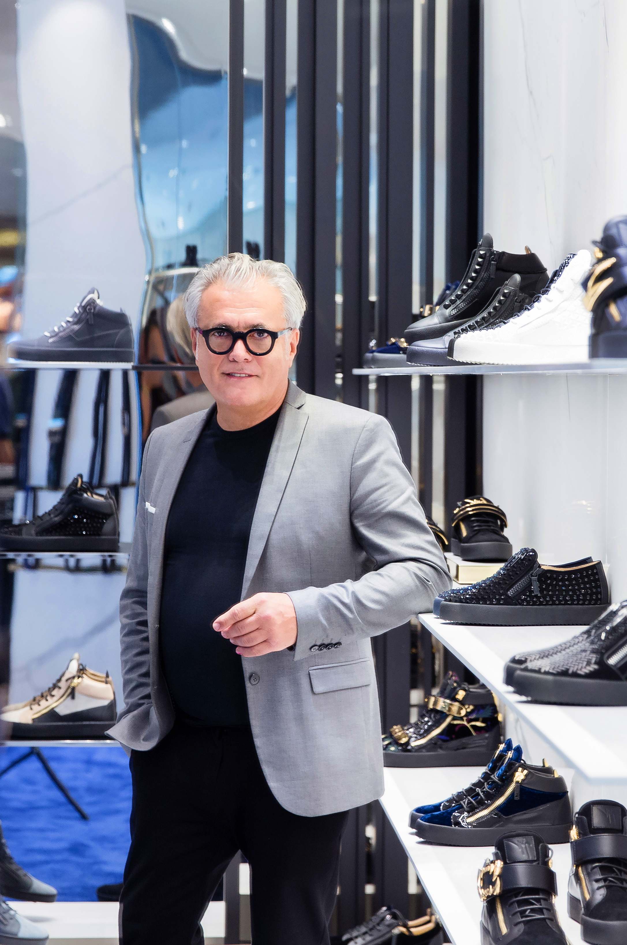 Walk Tall - Giuseppe Zanotti Interview
